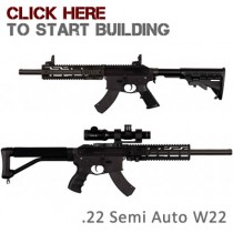 .22lr Semi-Auto W22 Rifle Builder