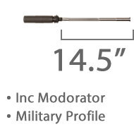 "SGC Match 14.5"" Med Weight Military Profile Staionless Barrel 1 in 8 Twist Inc Moderator +£681.14"