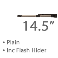 "14.5"" Plain Stainless Steel MBar Barrel 1 in 8 twist Lothar Walthar Match Grade, 1/2""x 28 Tpi Threaded Muzzle +£1,267.20"