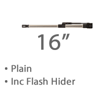 "16"" Plain Stainless Steel MBar Barrel 1 in 8 twist Lothar Walthar Match Grade, 1/2""x 28 Tpi Threaded Muzzle +£1,267.20"
